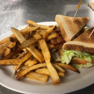 BLT With French Fries