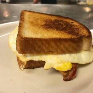 Bacon And Eggs On Texas Toast