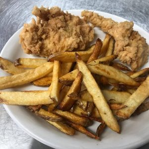 Kid Chicken Strips With French Fries