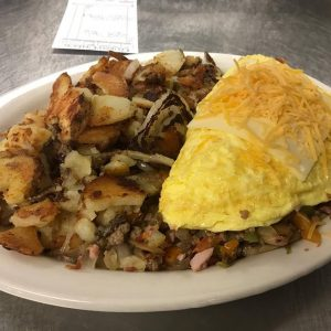 Ultimate Omelette With Skillet Fries