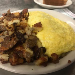 Veggie Omelette With Potatoes